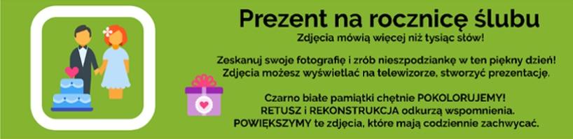 Prezent na 25 rocznicę ślubu Maków Podhalański