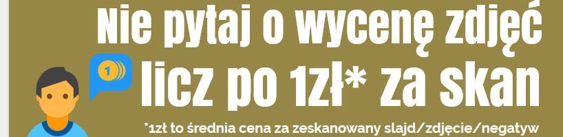 Skaner do zdjęć i slajdów Bielsko-Biała