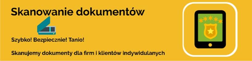 Skanowanie dokumentów Polkowice