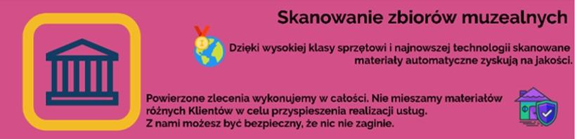 Skanowanie zbiorów muzealnych Olszyna