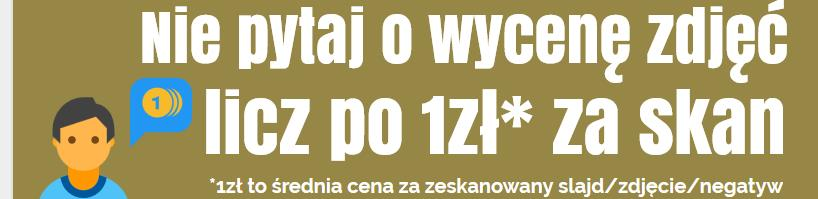 Skanowanie zdjęć Jasło