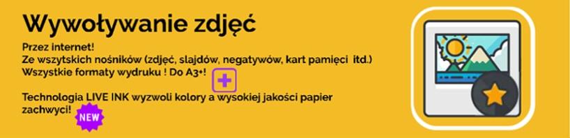 Wywoływanie zdjęć przez internet Katowice